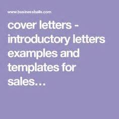 Effective sales cover letter
